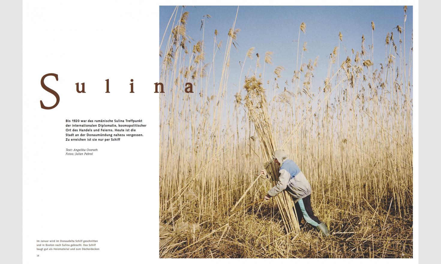 Mare, issue 121, april/may 2017 - Sulina