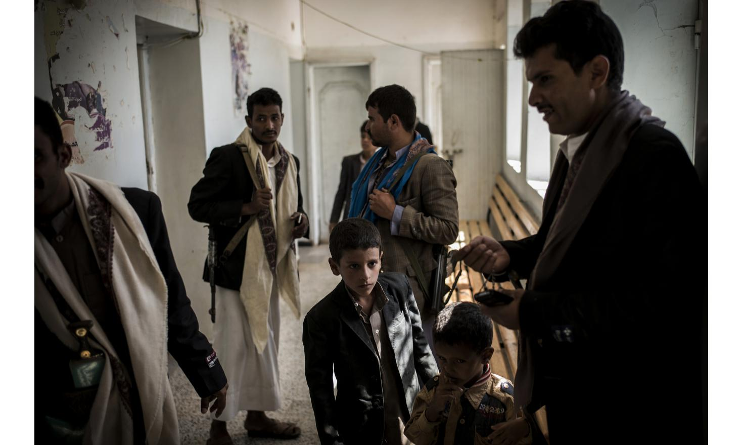 Hospital held by the Houthis /