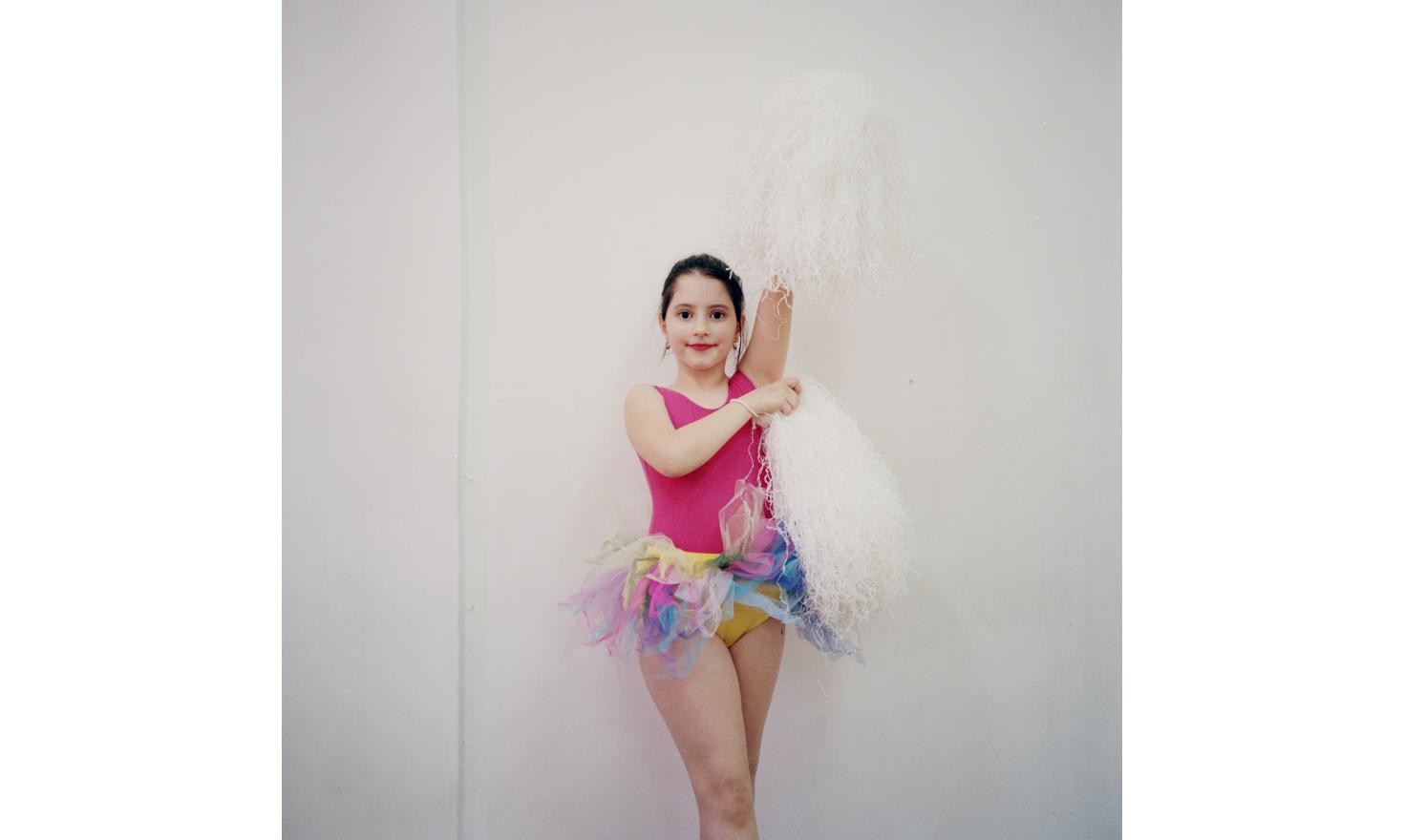 A cheerleader at Jean Bart highschool in Sulina. Jean Bart is the pseudonym of the Romanian writer Eugeniu Botez. He wrote the novel Europolis, which tells the heyday of Sulina.