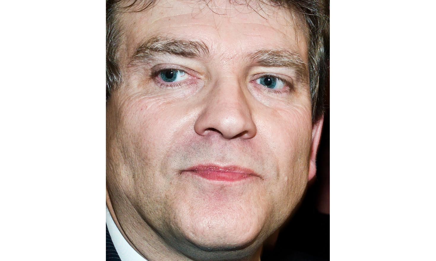 Arnaud Montebourg at his meeting at the Gymnase Jean-Jaurès in Paris
