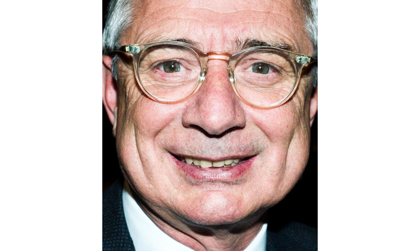 Claude Bartolone, member of the Socialist Party, president of the National Assembly since 2012, deputy of Seine-Saint-Denis in 1981, minister... Parisian meeting of Manuel Valls at the Trianon in Paris during the first round of the PS primaries.