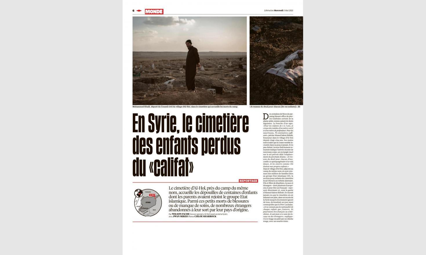 Al-Hawl, Syria. Libération May 5th 2021