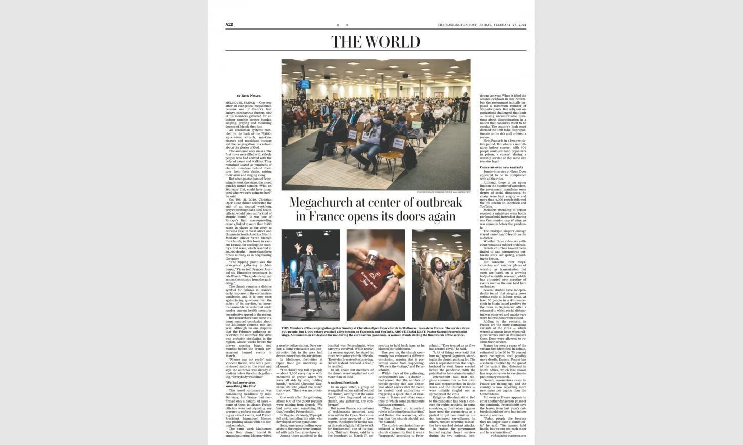 The Washington Post, February 25th 2021