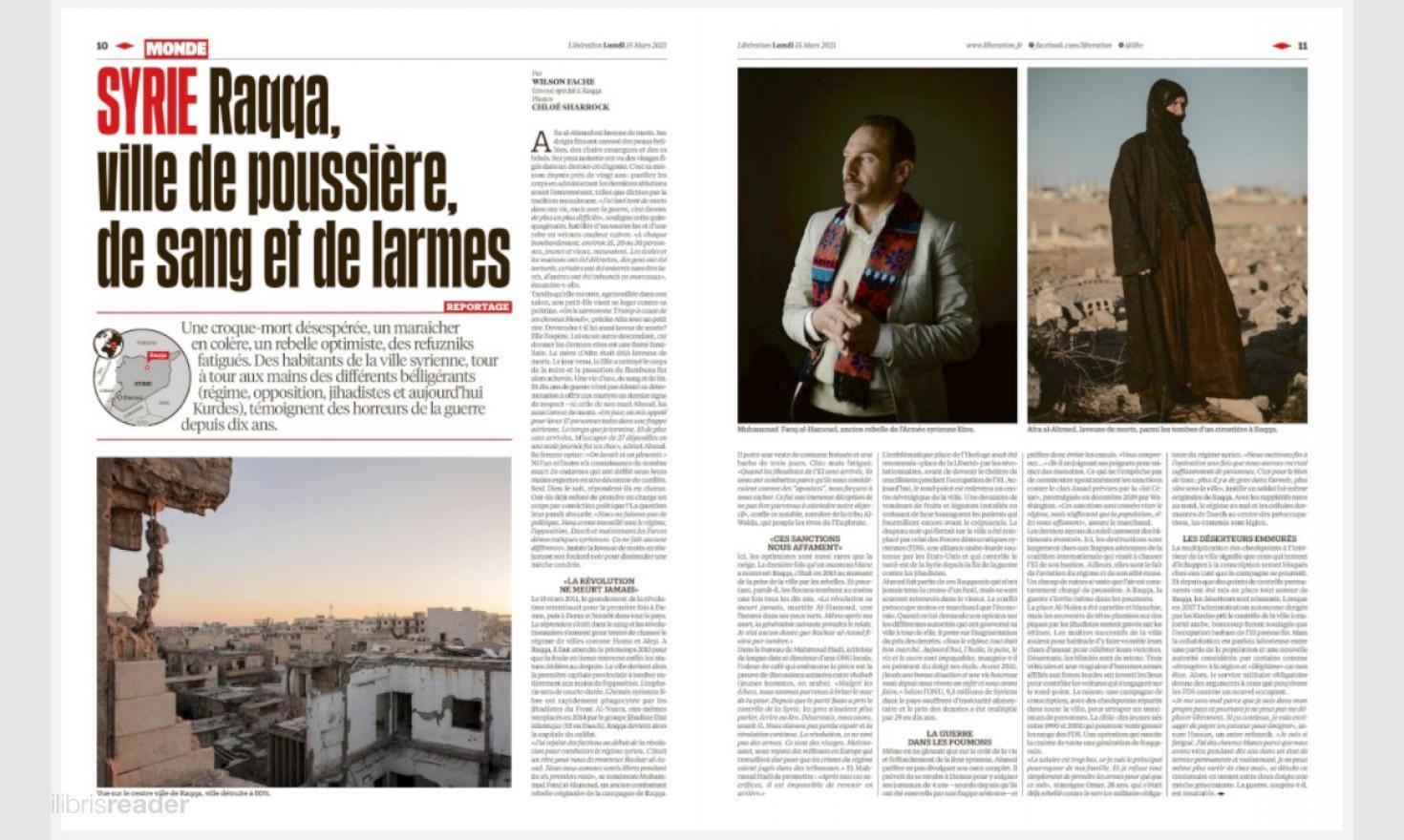 Syria, Raqqa - Libération March 15th 2021