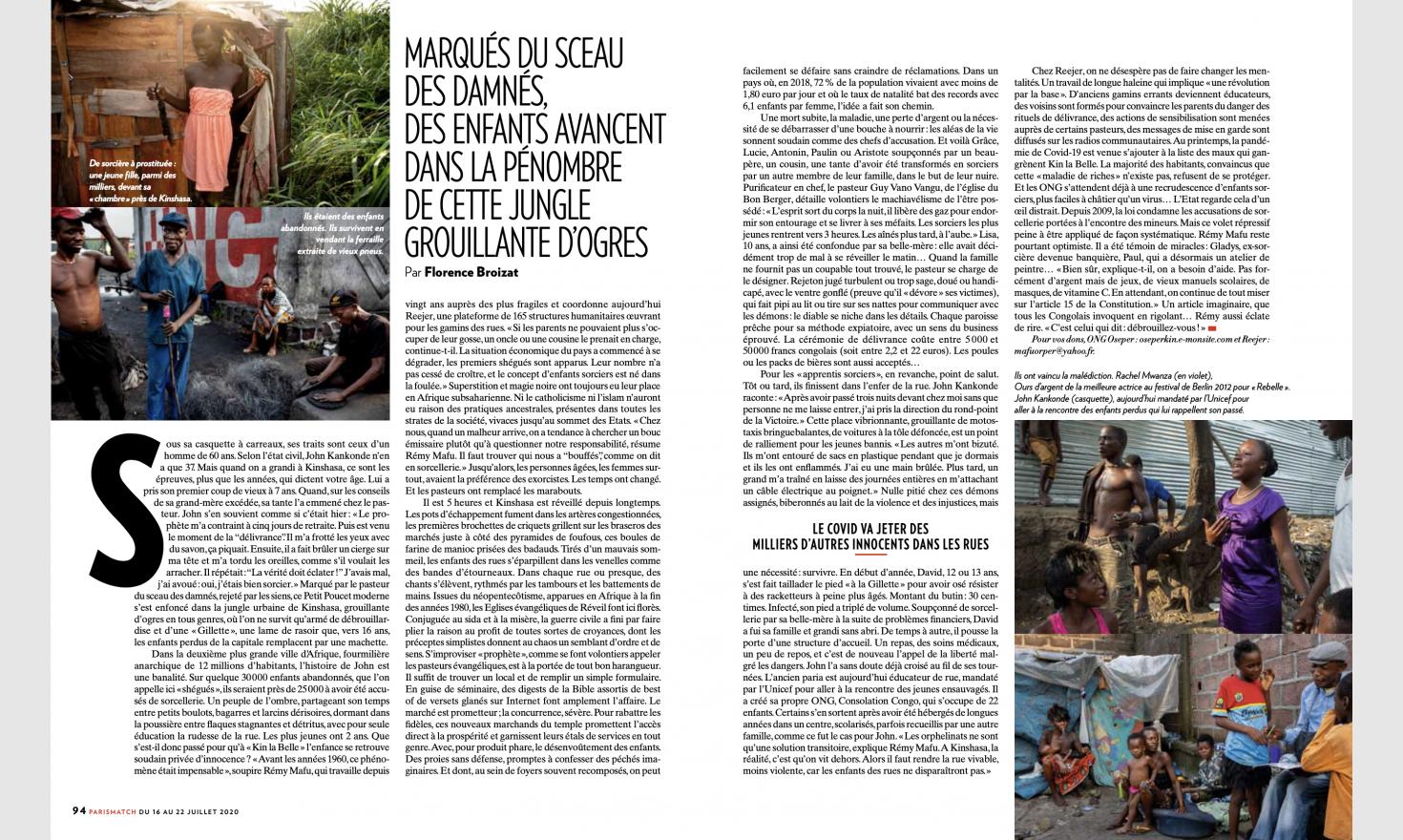 Paris Match - Enfants Sorciers
