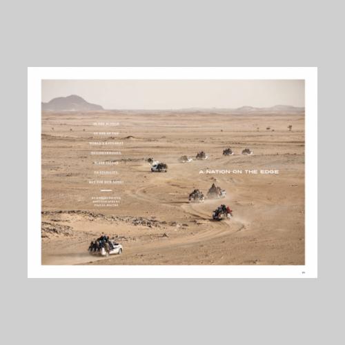 National Geographic. Sahel © Pascal Maitre / MYOP