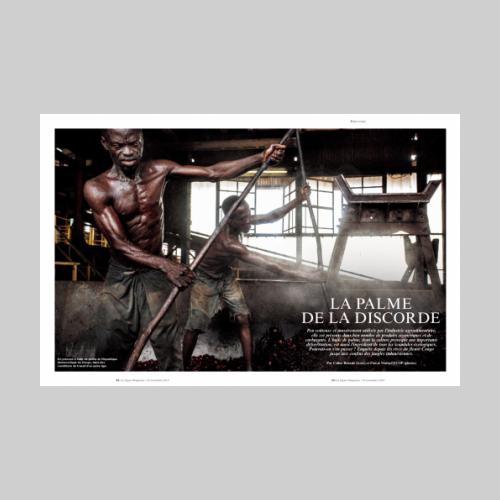 Le Figaro Magazine - Huile de Palme © Pascal Maitre / MYOP