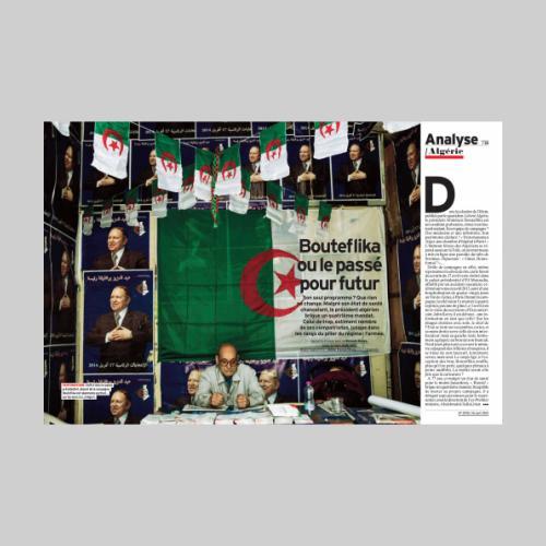 L'Express. Eléctions en Algérie