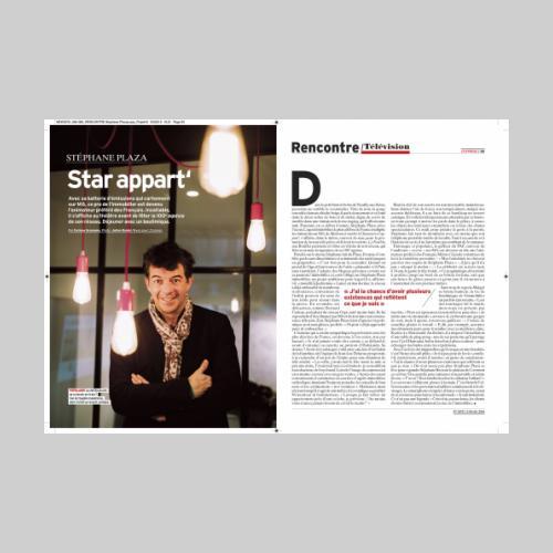 L'Express. Portrait de Stephane Plazza