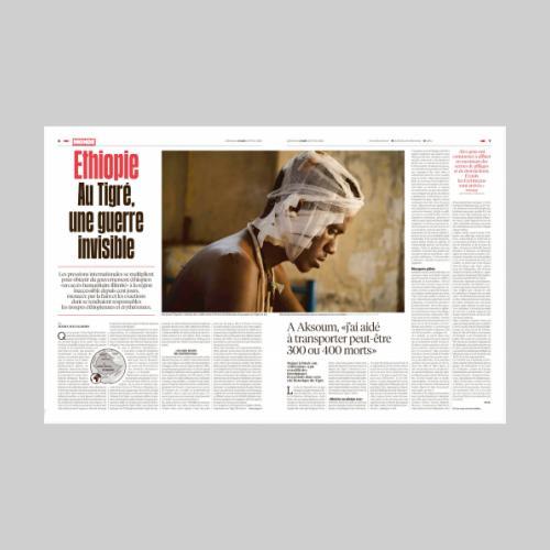Libération: Ethiopie. Au Tigré une guerre invisible.