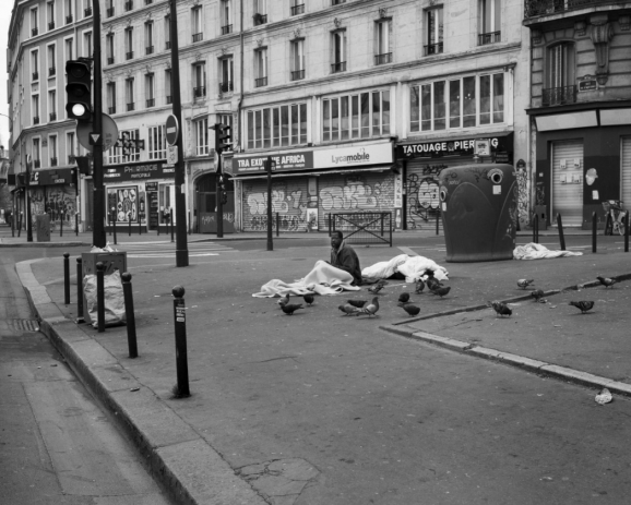 Paris, Avril 2020