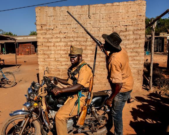 Milices Koglwegos / Burkina Faso, 2019 ©Pascal Maitre/ MYOP
