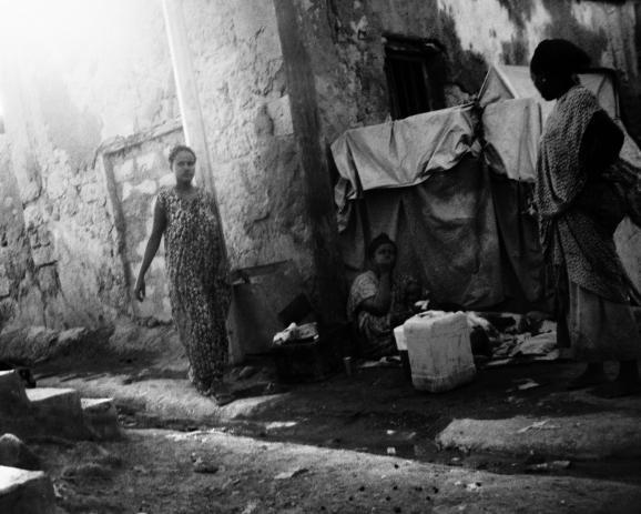 refugess in Djibouti town