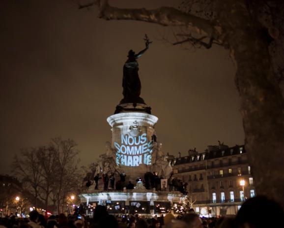 Place de la République, january 7th