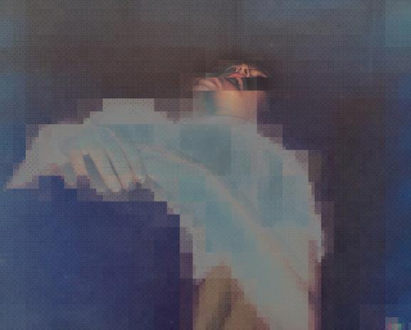 digital after love, abstract, ruppert pupkin, prix swiss life à 4 mains, digital art,  pixélisé, glitch, fondation swiss life, oan kim, pixelated, actes sud, concert, corpse, sleep, dormir,