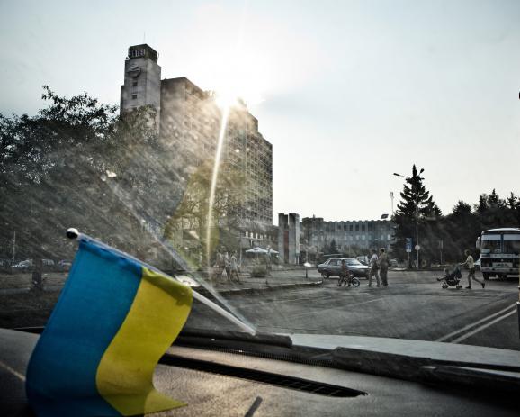 Ukraine: The forgotten refugees at the EU border