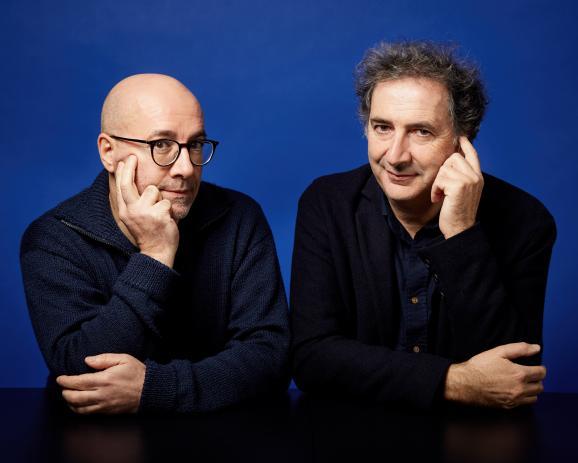 François  Morel et Pascal Rabaté